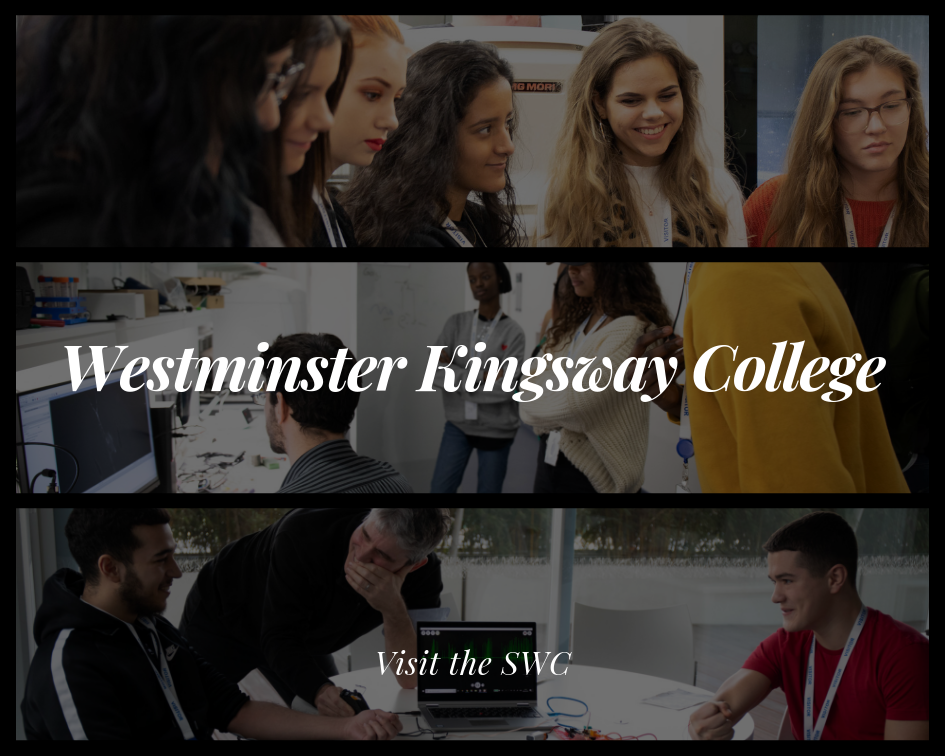 Westminster Kingsway College Students Lab Tour